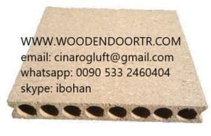 hollow core chipboard