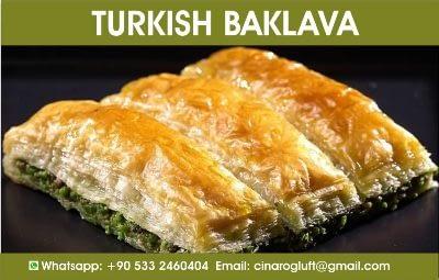 turkish baklava gaziantep