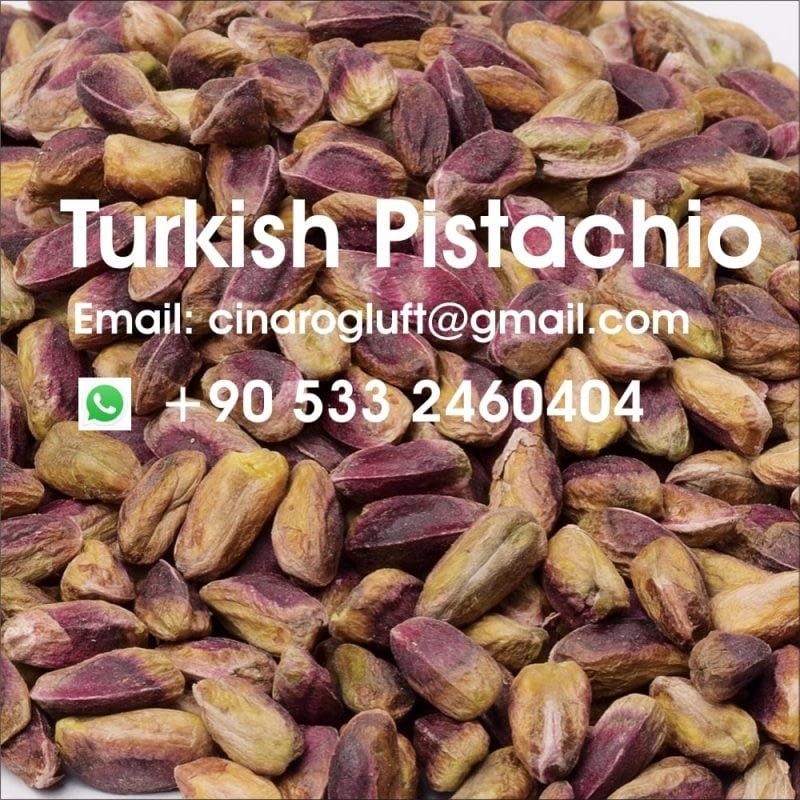 turkish antep pistachio kernel red yollowish
