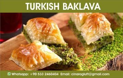 types of turkish baklava