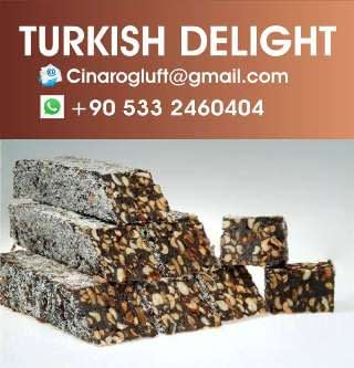 cocoa turkish delight with nuts