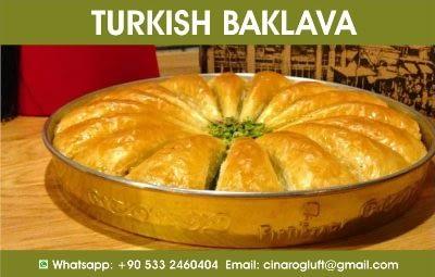 turkish baklava pistachio