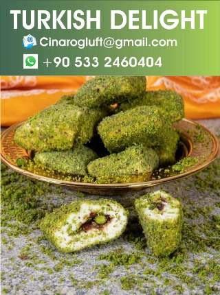 authentic turkish delight pistachio