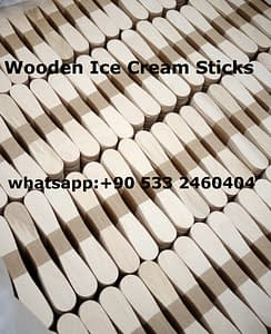 wooden ice cream stick